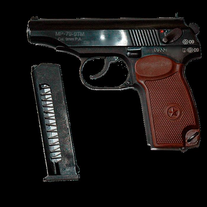 Пистолет огнестрельный ограниченного поражения МР-79-9ТМ