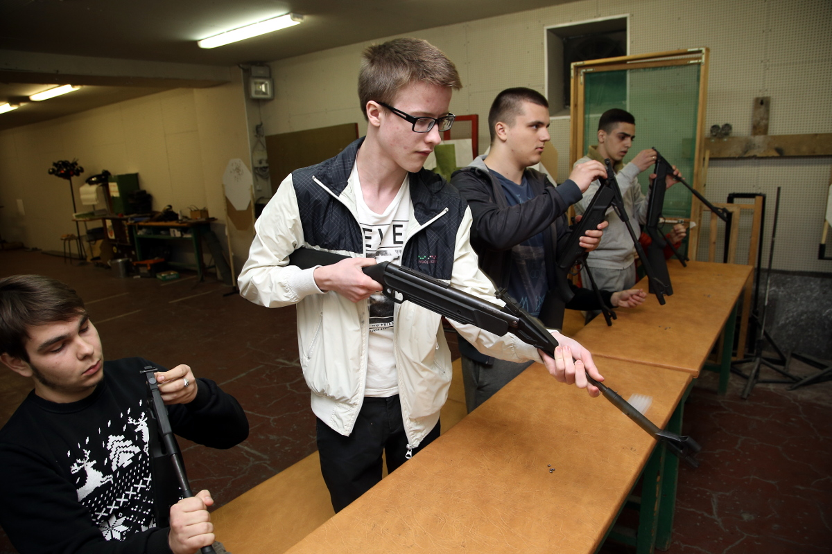 подготовка к стрельбе