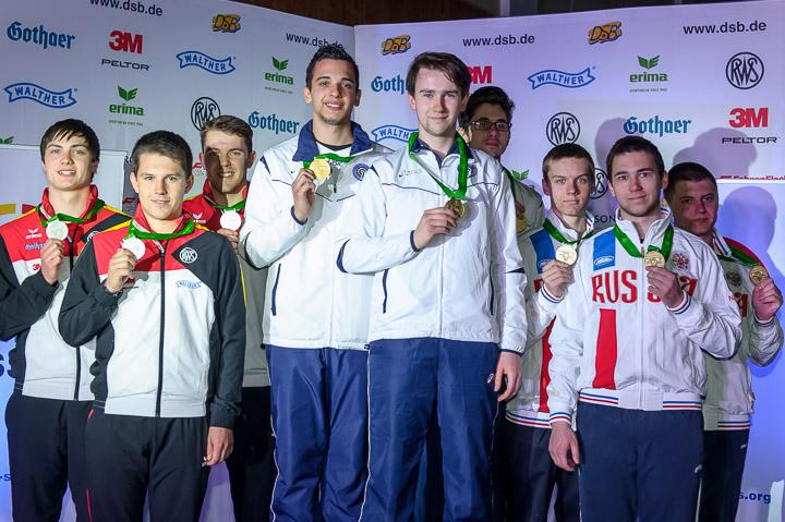 ISSF Junior World Cup Rifle/Pistol/Shotgun 2016 - Suhl, GER - Finals 50m Rifle 3 Positions Men Junior